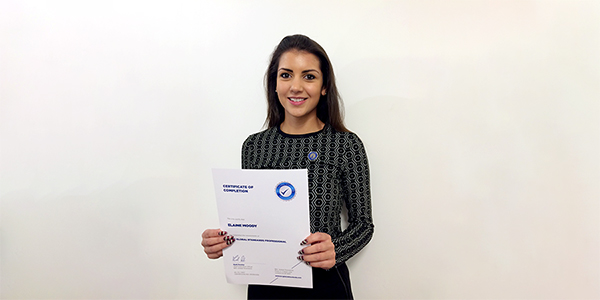 Ellie Moody, Quality Manager at Van Rees, becomes our first BRC Global Standards Professional for the EMEA region